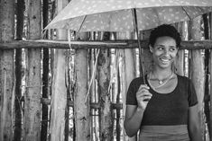 Addis Ababa, Ethiopia.  The happy girl under her umbrella.. An urban, black and white portrait from Addis Ababa. #portrait #ethiopia #girl #streetphotography #blackandwhite #umbrella #africa #african #portraitphotography #photography Fine Art Photography, Street Photography, Portrait Photography, Addis Ababa, Black And White Portraits, Happy Girls, Ethiopia, African, Urban