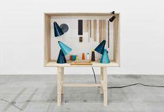 "Harry Thaler: installazione per ""Wonder Cabinets of Europe"", ICFF, New York 2013"