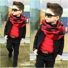 Winter break s Cutiefa shion ☣⚛☸❇🆒🆕; Toddler Boy Fashion, Little Boy Fashion, Girl Fashion, Swag Fashion, Fashion 2020, Fashion Clothes, Fashion Trends, Baby Boy Hairstyles, Baby Boy Haircuts