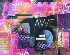 Art journal page by Mary Beth Shaw