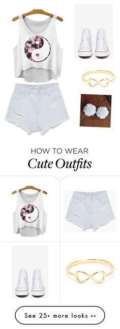 """Cute summer time outfit"" by marisah-roberts on Polyvore"