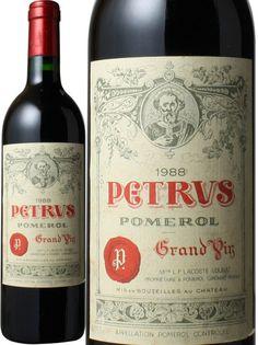(d0286)シャトー・ペトリュス [1988] <赤> <ワイン/ボルドー>