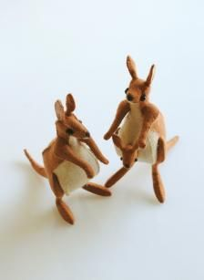 Make marvelous felt animals from Sunfelt Kits...to purchase at PurlSoho