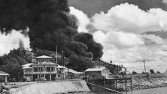 This day in World War II ~ February 19, 1942 ~  Approximately 150 Japanese warplanes attacked the Australian city of Darwin.