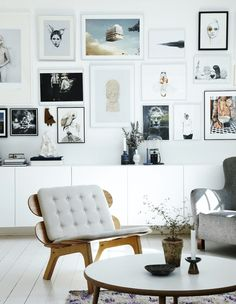 gallery wall..