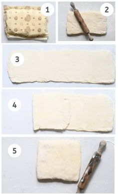 Steps to laminating dough for croissant Croissant Recipe, Croissant Dough, Homemade Croissants, Egg Wash, Vegetarian Chocolate, Tray Bakes, Nutella, Baked Goods, Baking