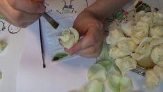тонировка  маленькой белой  розы. МК от Риты