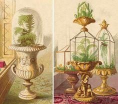From Design sponge - Victorian terrariums!