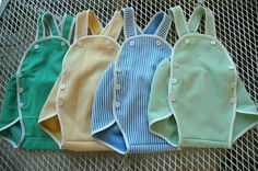 my sister's friend Julie sells these homemade vintage baby jumpers on Etsy and they are soooo freaking adorable!!! It's time for another baby so I can dress him/her up in one of these darling things!!!