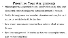 Get personalized homework help for your college homework in over 60 subjects.  Visit http://classof1.com/ to get help, NOW!!  How to Finish Your Homework on Time: This document discusses about, how you can finish your homework on time.