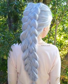 Top 60 All the Rage Looks with Long Box Braids - Hairstyles Trends Face Shape Hairstyles, Long Face Hairstyles, Box Braids Hairstyles, Trending Hairstyles, Straight Hairstyles, Fantasy Hairstyles, Natural Hairstyles, Pretty Hairstyles, Blonde Box Braids