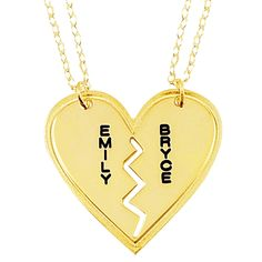 7 Stunning Breakable Heart Necklace