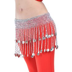 Dancewear Polyester Belly Dance Belt For Ladies(More Colors) – USD $ 8.69