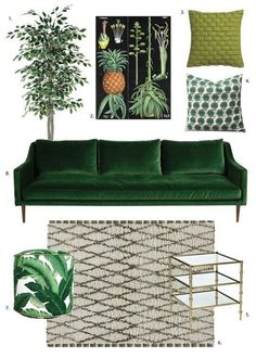 67 Trendy Home Living Room Sofa Living Room Green, Living Room Paint, Living Room Carpet, Living Room Colors, Living Room Sofa, Rugs In Living Room, Apartment Living, Apartment Therapy, Bedroom Green