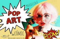 ¿Como se hace un maquillaje de cómic? aquí explicamos el paso a paso: http://www.manualidadesinfantiles.org/maquillaje-de-comic