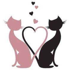 The Love Cats by summer The Love Cats by summer The post The Love Cats by summer appeared first on Katzen. Black Cat Art, Cat Quilt, Cat Silhouette, 5d Diamond Painting, Cat Crafts, Cat Drawing, String Art, Cat Love, Painted Rocks