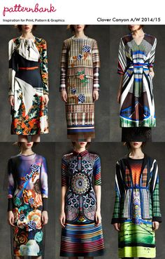 pattern bank clover canyon aw14-15