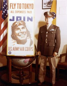 The right man at the right time. Lt. Col. James H. Doolittle took his 16 B-25 bombers and succeeded in embarrassing the Japanese empire and reminded them that our uniformed men and women give as good as we get. It appears that Lt. Col. Doolittle had a sense of humor as well.