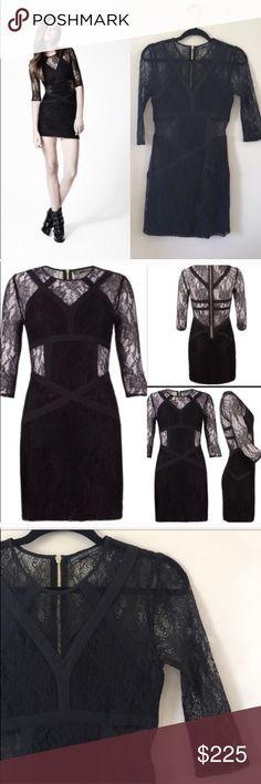 All Saints Lace Mini Dress NWOT US 6, never worn. All Saints Dresses