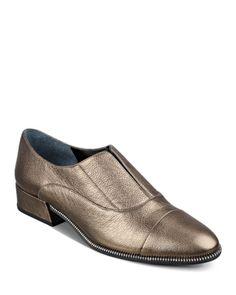 Marc Fisher LTD. Idri Metallic Loafers   Bloomingdales's