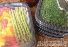 Produce Storage (And My Recent Refrigerator Storage Epiphany) - This has seriously changed my life in the kitchen. Find out how to store fruits and veggies the right way so that they will last longer and be prepped (and ready) when you need them. Also, what you SHOULD be storing in your fridge's crisper drawers.