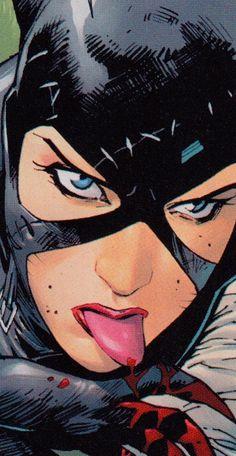 Catwoman Comic, Batman And Catwoman, Batman Art, Batgirl, Comic Book Characters, Comic Character, Comic Books Art, Geeks, Marvel Comics