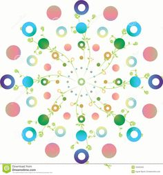 Colorful Polka Dot Backgrounds   Floral And Polka Dots Stock Photography - Image: 19425342