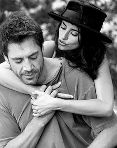 Javier Bardem with wife, Penélope Cruz