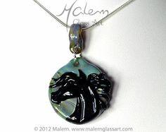 Equine Art by Malem Glass Artist Equine Art, Glass Jewelry, Glass Art, Sculptures, Horses, Pendant Necklace, Artist, Horse Art, Jar Art