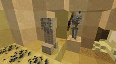 Orphea2012 Youtube et Minecraft: Minecraft / Réunion de monstres avec le pack de re...