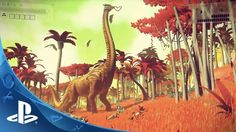 Can't believe this is made by only four guys ..,   No Man's Sky Gameplay Trailer | E3 2014 | PS4