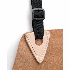 Von Fristads einem schwedischen Hersteller professionellen Arbeitszeugs kommt diese lange Schürze aus Rindspaltleder für den Schutz..