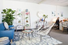Oh, wait but there are cool Acapulco chairs too? Now, we're in a conundrum.