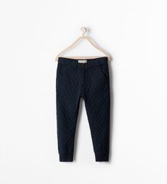 ZARA - KIDS - QUILTED TROUSERS