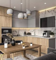 Kitchen Interior Design Unbeatable two tone kitchen cabinets wood and white Two Tone Kitchen Cabinets, Contemporary Kitchen Cabinets, Modern Kitchen Interiors, Kitchen Cabinet Colors, Painting Kitchen Cabinets, Kitchen Paint, Modern Kitchens, Kitchen Counters, Small Kitchens