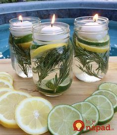 Other than being annoying, mosquitoes can actually be incredibly harmful so a mason jar mosquito repellent can be a life-saver. Whether it's Zika, West. Pot Mason Diy, Mason Jars, Pots Mason, Citronella Oil, Citronella Candles, Mosquitos, Mason Jar Projects, Mason Jar Crafts, Diy Mosquito Repellent