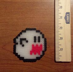 Boo from Super Mario Bros by Hirosspriteshop on Etsy, $4.00