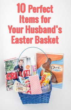 Healthier easter basket alternatives and printable cards easter although jellybeans and giant chocolate bunnies are definitely enough here are 10 perfect gifts to include in your husbands easter basket negle Image collections
