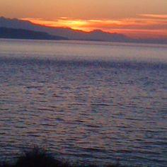 Whidbey Island WA - sunset