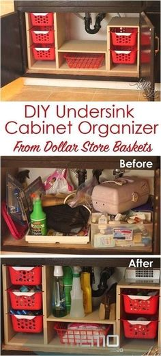 Oct 13 2018  How to cut the clutter under your sink by building an easy plywoo Apartment Kitchen Organization, Diy Kitchen Shelves, Small Apartment Kitchen, Organization Hacks, Bathroom Organization, Organizing Ideas, Apartment Hacks, Kitchen Sinks, Kitchen Decor