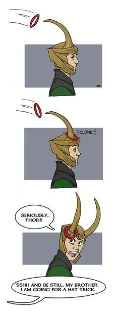 """Thor is being annoying again"" by Lamech O'Brien"