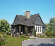 The Stoney Ridge Cottage A Frame Cabin, A Frame House, Creative Kids Rooms, Cabin Kits, One Story Homes, Modular Homes, Prefab Homes, Metal Homes, Rustic Design