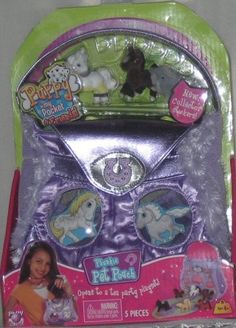 """Figures look off, drawings are not the same as original, and packaging says """"Puppy in My Pocket"""", not """"Pony in My Pocket"""" Pony, Lunch Box, Packaging, Puppies, Pocket, Drawings, Pony Horse, Cubs, Ponies"""