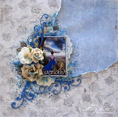 Mary's Crafty Moments: ''Wonder'' - DT Layout for Maja Design April Inspi...