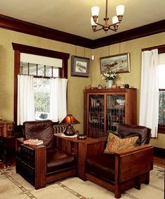 How To Create Furniture Vignettes | Old House Restoration, Products & Decorating