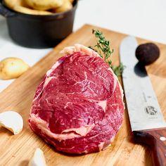 Entrecôte de boeuf Black Angus Bio Steak, Food, Butcher Shop, Fine Dining, Products, Kitchens, Essen, Steaks, Meals