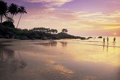 A beach in Goa, India, Asia