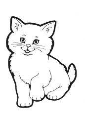 desenhos de animais domesticos para pintar
