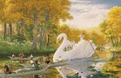 Ted Nasmith: Farewell to Lorien
