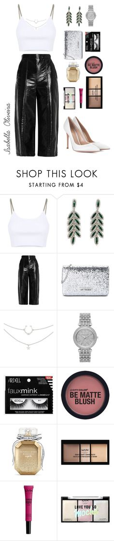 """New Year 🎉"" by bellaisa34 ❤ liked on Polyvore featuring Alexander Wang, Forever 21, MSGM, Love Moschino, Michael Kors, Victoria's Secret, Gianvito Rossi, newyear and anonovo"